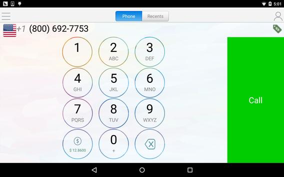 WePhone - free phone calls and cheap calls ScreenShot3