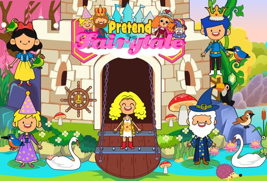 My Pretend Fairytale Land - Kids Royal Family Game ScreenShot3