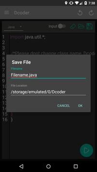 Dcoder, Compiler IDE :Code and Programming on mobile ScreenShot3