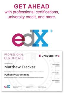 edX - Online Courses by Harvard, MIT and more