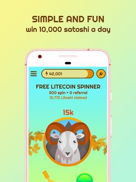 Free Litecoin Spinner ScreenShot3
