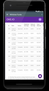 Oke.io - Shorten Urls and Earn Money! ScreenShot3