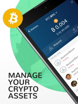 Edge - Bitcoin, Ethereum, Monero, Ripple Wallet ScreenShot3