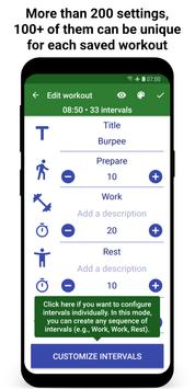 Tabata Timer: Interval Timer Workout Timer HIIT