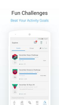 Pedometer, Step Counter and Weight Loss Tracker App