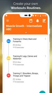 Gym WP - Dumbbell, Barbell and Supersets Workouts ScreenShot3