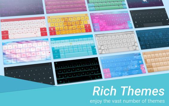 Pink Water Sakura Keyboard Theme