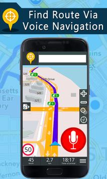 Voice GPS Driving Directions, Gps Navigation, Maps ScreenShot3