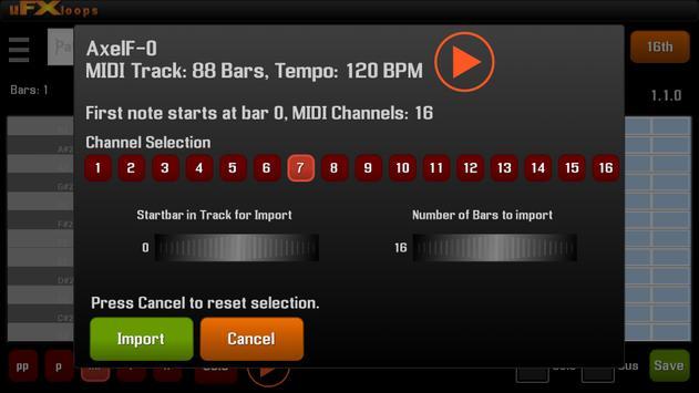 uFXloops Music Studio ScreenShot3