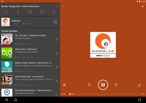 Castbox: Free Podcast Player, Radio and Audio Books ScreenShot3