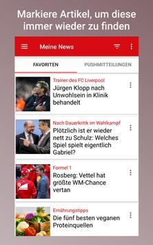 FOCUS Online - Nachrichten: Die schnelle News App ScreenShot3