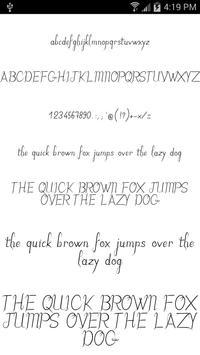 Fonts for FlipFont Romance ScreenShot3