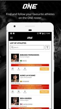 ONE Championship ScreenShot3