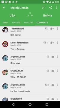 CrowdScores - Live Scores and Stats