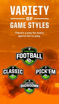 DraftKings - Daily Fantasy Sports for Cash Prizes ScreenShot3