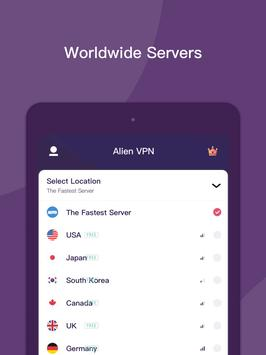 Alien VPN - Fast Metro VPN and Proxy ScreenShot3