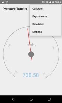 Barometer + pressure tracker