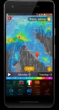 3D EARTH - accurate weather forecast and rain radar