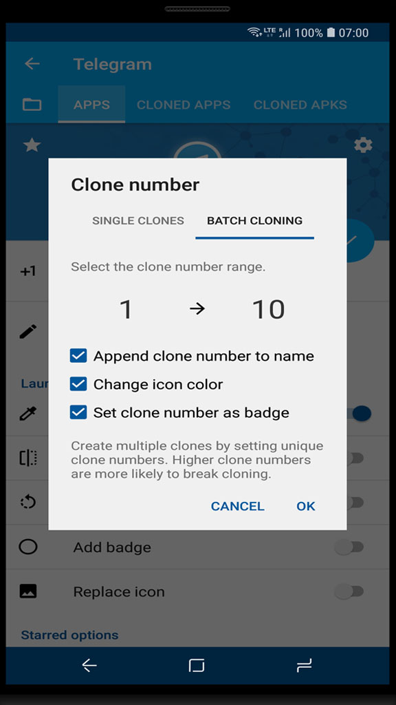 App cloner latest version 2019 1 5 24 Free for Android - APK