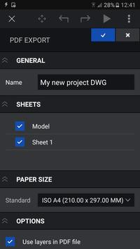 CorelCAD Mobile - .DWG CAD annotation and design ScreenShot3