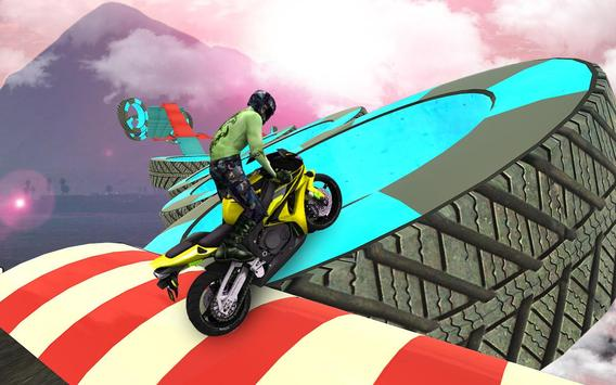 Bike Impossible Tracks Race: 3D Motorcycle Stunts ScreenShot3