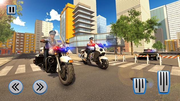 Police Moto Bike Chase