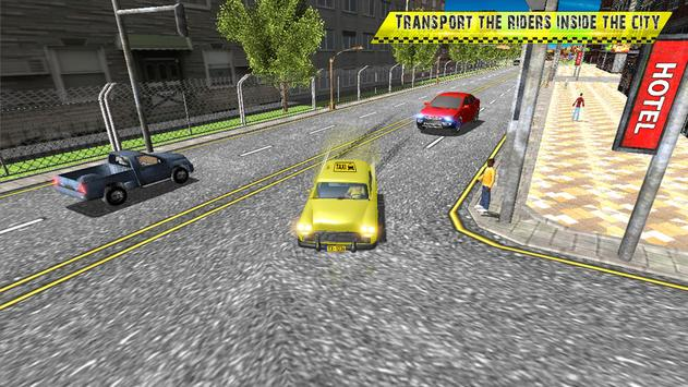 Taxi Driving in Rush City ScreenShot3