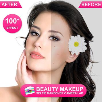 Beauty Makeup - Selfie Makeover Camera Lab ScreenShot3