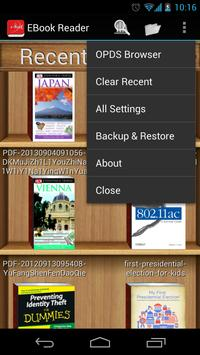 EBook Reader and PDF Reader ScreenShot3