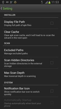 Easy Installer - Apps On SD ScreenShot3