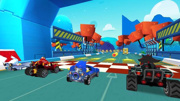 Ultra Sonic Speed: art Racing ScreenShot3