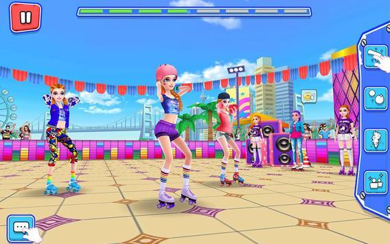 Roller Skating Girls  Dance on Wheels ScreenShot3
