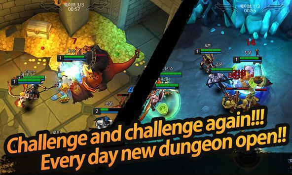 League of Masters : Legend PvP MOBA Battle ScreenShot3