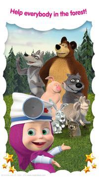 Masha and the Bear: Free Animal Games for ids ScreenShot3