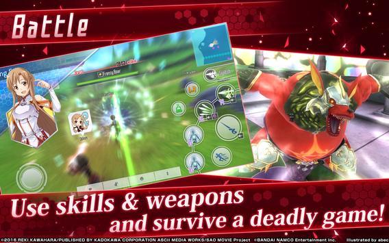 Sword Art Online: Integral Factor ScreenShot3
