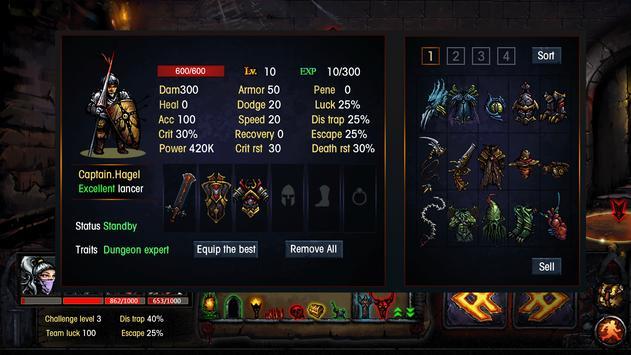 Dungeon Survival  Endless maze ScreenShot3