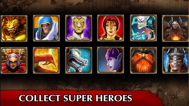 Legendary Heroes MOBA ScreenShot3