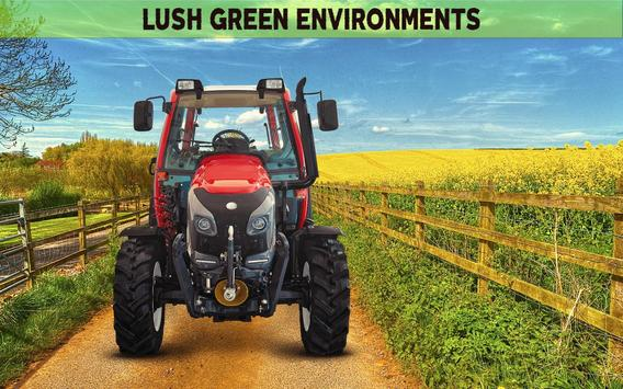Farming Simulator 19: Real Tractor Farming Game ScreenShot3