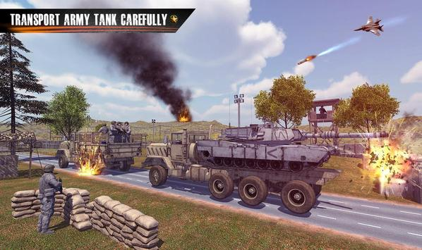 Us Army Truck Driving : Real Army Truck ScreenShot3