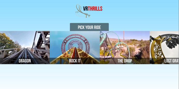 VR Thrills: Roller Coaster 360 (Google Cardboard) ScreenShot3