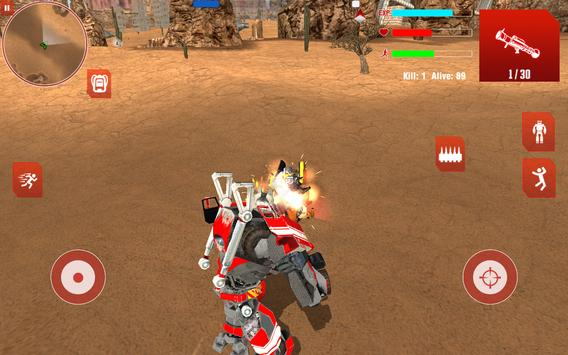 Royal Robots Battleground ScreenShot3