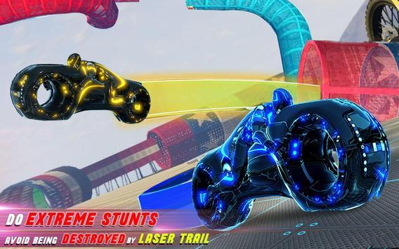 Tron Bike Stunt Racing 3d Stunt Bike Racing Games ScreenShot3