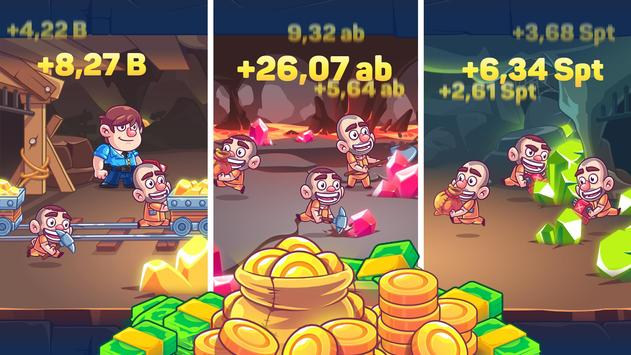 Idle Prison Tycoon: Gold Miner Clicker Game ScreenShot3