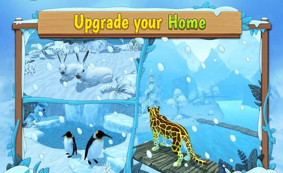 Snow Leopard Family Sim Online ScreenShot3
