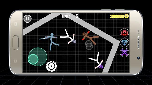 Stickman Warriors Online : Epic War ScreenShot3