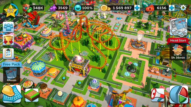 RollerCoaster Tycoon Touch  Build your Theme Park ScreenShot3