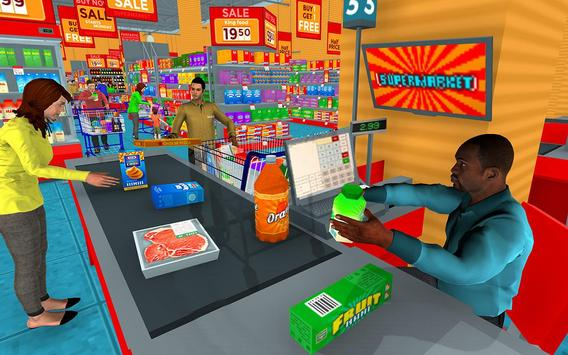 Supermarket Grocery Shopping Mall Family Game ScreenShot3