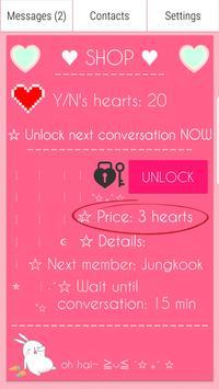 BTS Messenger ScreenShot3