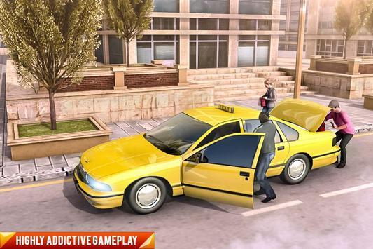 Drive Mountain City Taxi Car: Hill Taxi Car Games ScreenShot3