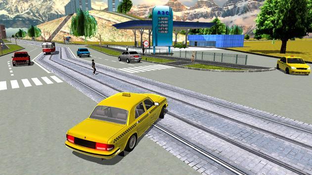 Russian Taxi Simulator 2016 ScreenShot3